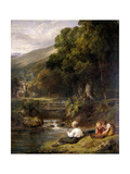 Borrowdale, Cumbria, 1821 Giclee Print by William Collins