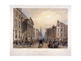 Mansion House and Cheapside, London, 1851 Giclee Print by Thomas Picken