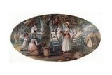 Gathering Fruit, Late 18th Century Giclee Print by William Hamilton