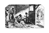 The Death of Uncle Tom, from Uncle Tom's Cabin Published 1852 Giclee Print by William Heinemann Ltd