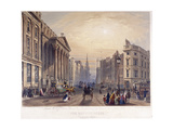 Mansion House (Exterior), London, 1851 Giclee Print by Thomas Picken