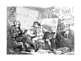 The Historian Animating the Mind of a Young Painter, 1784 Giclee Print by Thomas Rowlandson