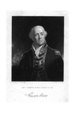 Admiral James Gambier (1756-183), 1st Baron Gambier, 1837 Giclee Print by W Holl