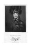 James Duff (1729-180), 2nd Earl of Fife, 1830 Giclee Print by W Holl