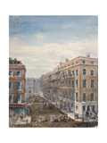View of King Street, Looking North from Cheapside to the Guildhall, City of London, 1840 Giclee Print by Thomas Hosmer Shepherd