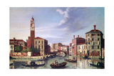 Palazzo Labia, Cannaregio Canal, C1750-1771 Giclee Print by William James