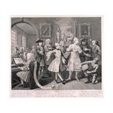 A Rake's Progress, 1735 Wydruk giclee autor William Hogarth