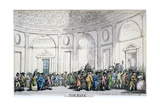 Interior View of the Bank of England, City of London, 1792 Giclee Print by Thomas Rowlandson
