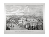 View of the Proposed St Katharine's Dock, London, C1825 Giclee Print by Thomas Mann Baynes