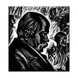 Taras Shevchenko, 19th Century Ukrainian Poet and Artist, 1960 Giclee Print by Vasili Kassiyan