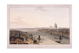 London Bridge, 1804 Giclee Print by William Daniell