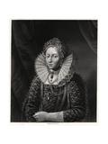 Queen Elizabeth I, 19th Century Giclee Print by W Holl