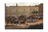North Country Mails at the Peacock, Islington, 1823 Giclee Print by Thomas Sutherland