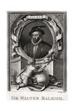 Sir Walter Raleigh, 1775 Giclee Print by W Sharp