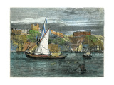 View of Oporto, Portugal, C1880 Giclee Print by  Swain
