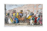 Pall Mall, 1807 Giclee Print by Thomas Rowlandson