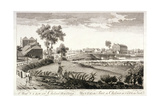 West View of Chelsea Bridge, London, C1760 Giclee Print by William Lodge