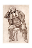 Mark Lemon, 19th Century Editor of Punch Magazine Giclee Print by William Henry Margetson
