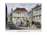 The French Horn Inn, Holborn, London, 1851 Giclee Print by Thomas Hosmer Shepherd