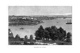 Elizabeth Bay, Sydney, 19th Century Giclee Print by William Hatherell