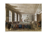 Meeting of the Agricultural Society, London, 1808-1810 Giclee Print by Thomas Rowlandson