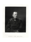 Count Von Moltke, (1800-189), Famous German Field Marshal, 19th Century Giclee Print by W Holl