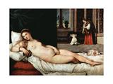 Venus of Urbino, 1538 Giclée-tryk af Titian (Tiziano Vecelli)