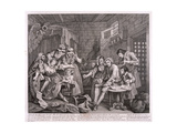 A Rake's Progress, 1735 Giclee Print by William Hogarth