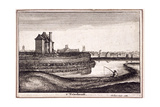 View of the Area around New River Head, Finsbury, London, 1665 Giclee Print by Wenceslaus Hollar