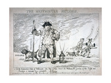 The Westminster Watchman, 1784 Giclee Print by Thomas Rowlandson