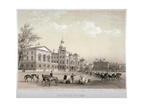 Horse Guards, Westminster, London, 1851 Giclee Print by Thomas Picken