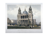 St Paul's Cathedral, City of London, 1851 Giclee Print by Thomas Picken