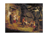 The Pet Lamb, C1813 Giclee Print by William Collins