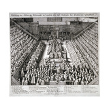 The Trial of Thomas Wentworth, Earl of Strafford, Westminster Hall, London, 1641 Lámina giclée por Wenceslaus Hollar