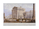 Sugar Refinery in Leman Street, Stepney, London, 1851 Giclee Print by Vincent Brooks