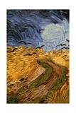 Wheatfield with Crows, (Detail) 1890 Reproduction procédé giclée par Vincent van Gogh