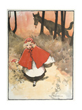 Scene from Little Red Riding Hood, 1900 Giclee Print by Tom Browne