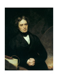 Michael Faraday, English Chemist and Physicist, 1842 Giclee Print by Thomas Phillips