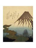 Totoya Hokkei - The Mount Fuji, 19th Century Digitálně vytištěná reprodukce