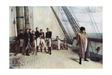 Napoleon on Board the Bellerophon, 1815 Giclee Print by William Quiller Orchardson