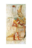 Egyptian Hieroglyphs, Abydos, Egypt, 1910 Giclee Print by Walter Tyndale