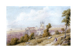 Hythe Church and Martello Tower, 19th Century Giclee Print by William Westall