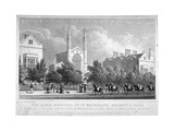 St Katherine's Hospital, Regent's Park, London, 1827 Giclee Print by William Tombleson