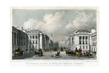 Waterloo Place and Part of Regent Street, Westminster, London, 1828 Giclee Print by William Tombleson