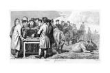 Fair Gamblers, Early 19th Century Giclee Print by Walter Geikie