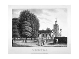 Church of St Giles, Camberwell, London, 1792 Giclee Print by William Ellis