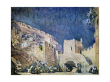 Set Design for the Opera Judith by Alexander Serov, 1907 Giclee Print by Valentin Serov