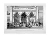 Burlington Arcade, Westminster, London, 1828 Giclee Print by William Tombleson