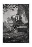Isaac Newton, English Scientist and Mathematician, 17th Century Giclee Print