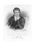 Humphry Davy, English Chemist in 1803 Giclee Print by Henry Howard